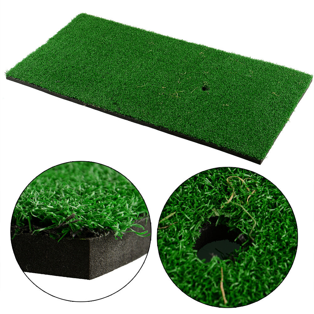Backyard Golf Mat 60x30cm Training Hitting Pad Practice Rubber Tee
