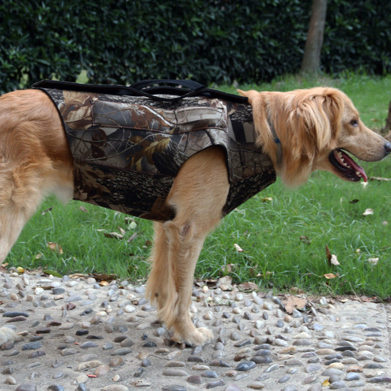 Dog Hunting Waistcoat Camouflage Neoprene Safety Vest for Dog Parka