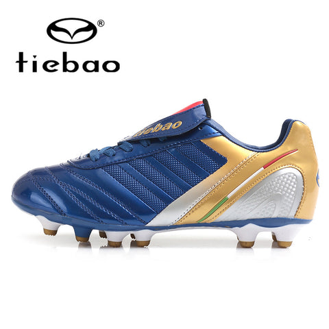TIEBAO Professional Outdoor Soccer Shoes HG & AG Sole Football Boots Men Women Athletic Training Soccer Cleats bola de futebol