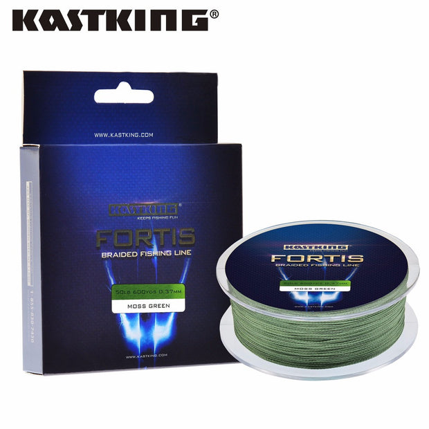KastKing Fortis 320M 350Yards PE Braided Fishing Line 4 Strands