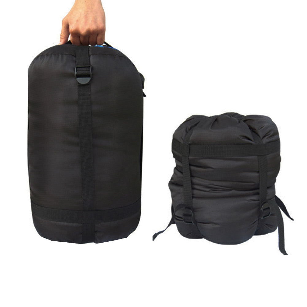 Black Lightweight Nylon Waterproof Compression Stuff Sack Bag