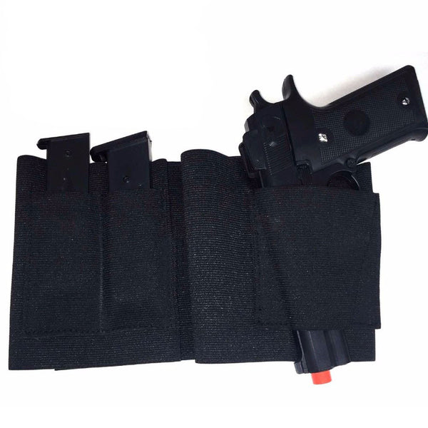 Concealed Belly Band Holster Under Cover Elastic Abdominal Band Pistol