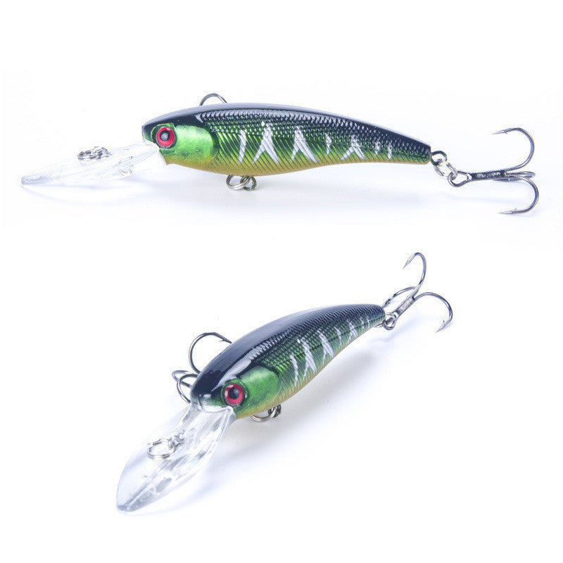 Brand 8g 9cm Lifelike Hard Fishing Minnow Lure Artificial Wobbler