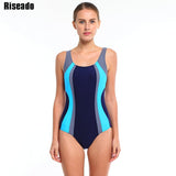 Riseado 2016 New Sports One Piece Swimsuit Swimwear Women Sexy Backless Bodysuits Swim maillot de bain Bathing Suits