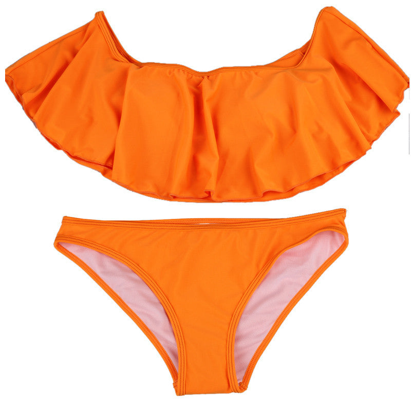 Sexy Cut Out Hollow Bikini Set Beach 2016 Female Bathing Suit Swimwear