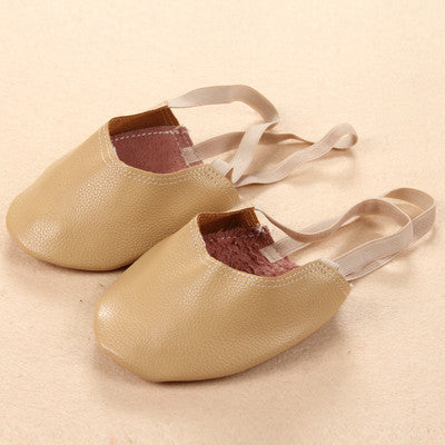 Basic Half Sole Stretch Slip-on Women's Lyrical Dance Shoe Girls