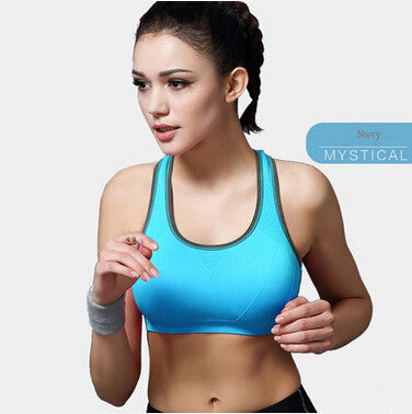 B.BANG Women Sports Yoga Shirts Fitness Running Gym Padded Wire free
