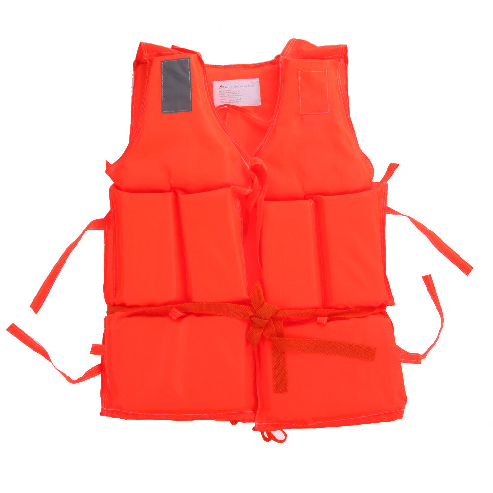 Kids~Adult Prevention Life Vest With Survival Whistle Water Sports