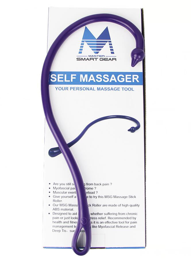 Back Hook Massager Acupressure Lower Back Neck Shoulder Massage