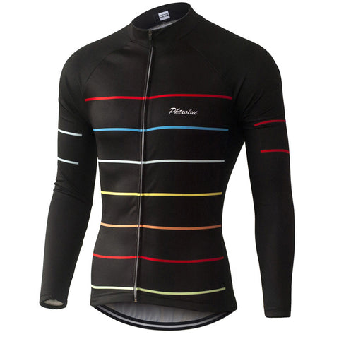 Phtxolue Thermal Fleece Cycling Jerseys Autumn Winter Warm 2016 Pro Mtb Long Sleeve Men Bike Wear Spring Summer Cycling Clothing