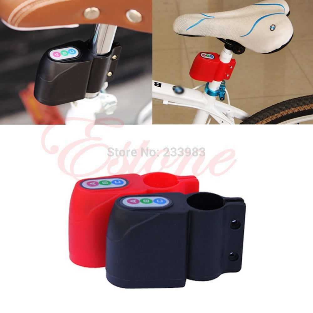 Bike Alarm Lock Bicycle Motorbike Moped Cycling Security Sound Loud