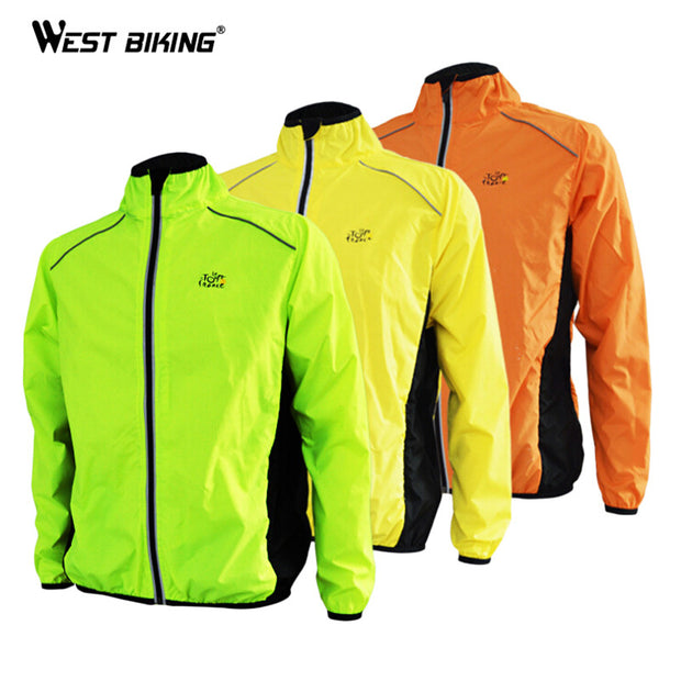 Tour de France Cycling Jackets Men's Riding Breathable Reflective
