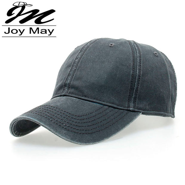 High quality Washed Cotton Adjustable Solid color  Baseball Cap Unisex