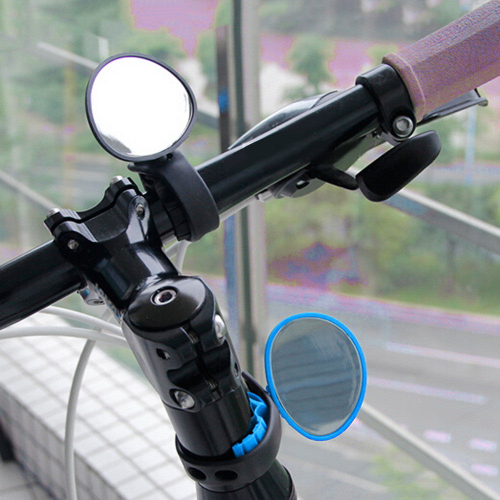Bike Bicycle Cycling Rear View Mirror Handlebar Flexible Safety