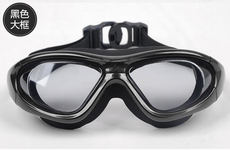 Big Frame  High Quality  Anti Fog UV Protection Swimming Goggles