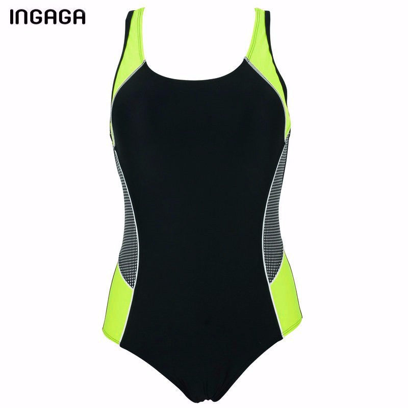 INGAGA One Piece Swimsuit Sports New 2017 Brand Swimwear Women