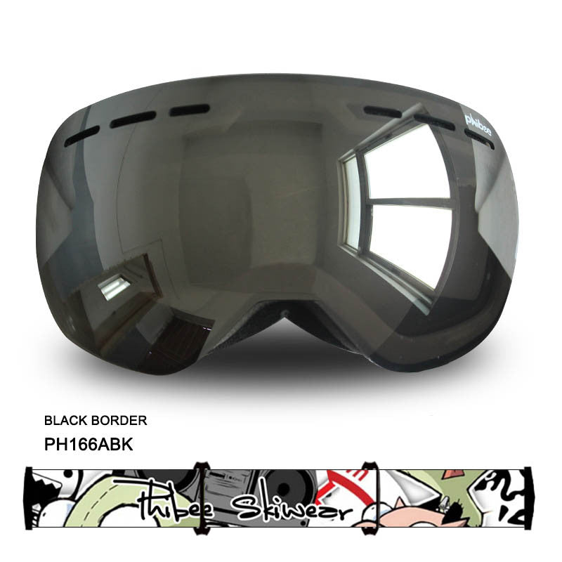 Detector Ski Goggles Men Women Snowboard Goggles Big Ski Mask Snow