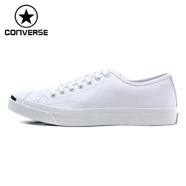 Original Converse classic Unisex leather skateboarding shoes Low top