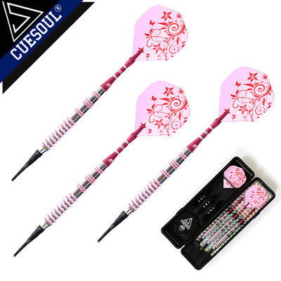 CUESOUL Professional Darts 17g 15cm  Soft Darts Electronic Soft Tip