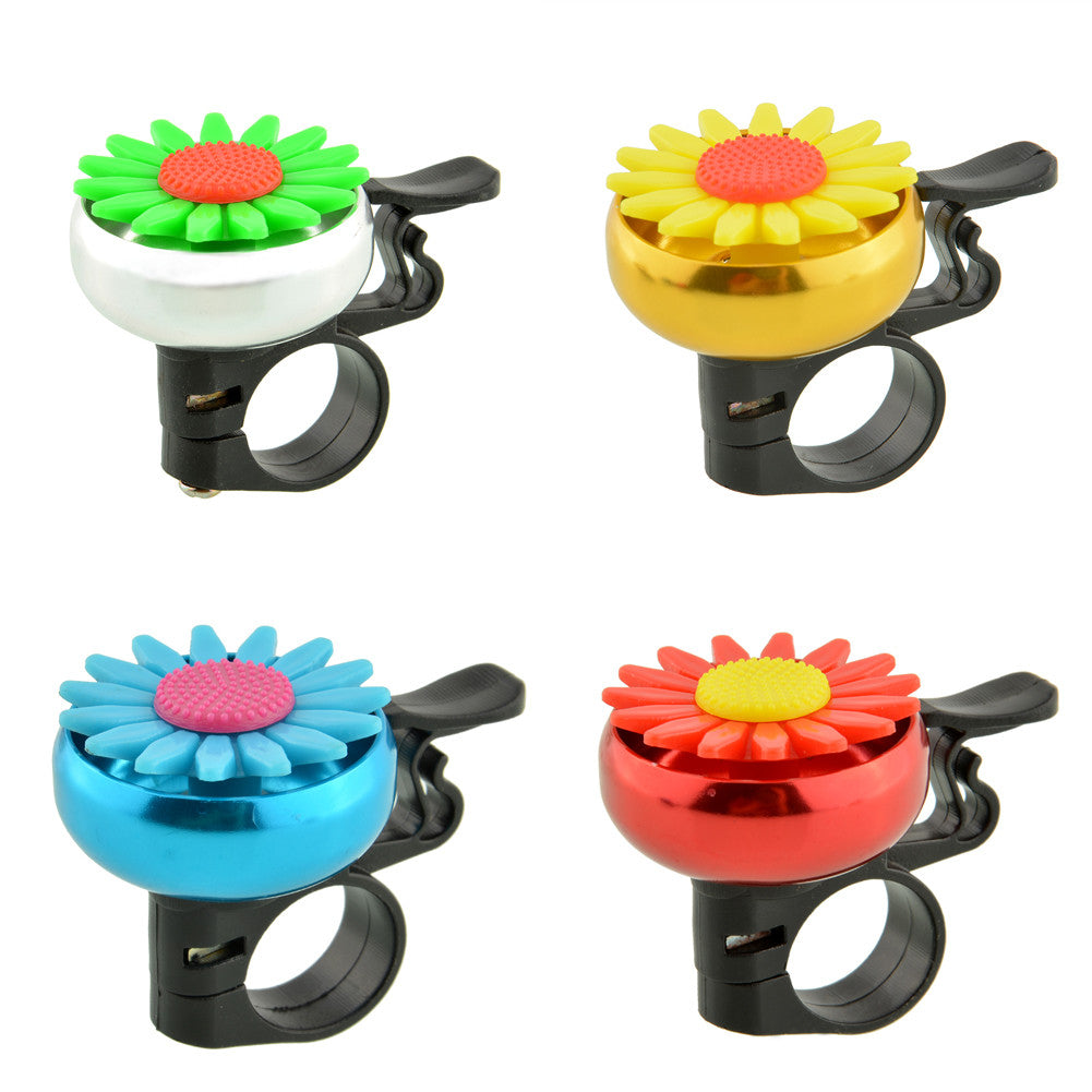 Cuty Flower Bike Bicycle Cycling Handlebar Ring Horn Sound Bell
