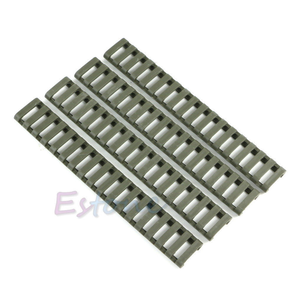 B39 2015 Newest 4pcs New 18-Slot Picatinny Ladder Rail Panel Handguard