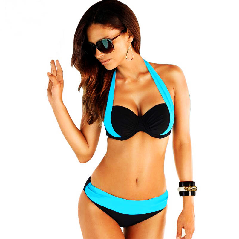 Bikinis 2016 Sexy Female Swimwear Women Push up Swimsuit High Waist