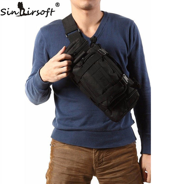 SINAIRSOFT High Quality Outdoor Military Tactical Backpack Waist