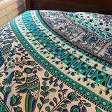 Round Mandala Beach Throw Yoga Mat Towel Tapestry Blanket Out sports