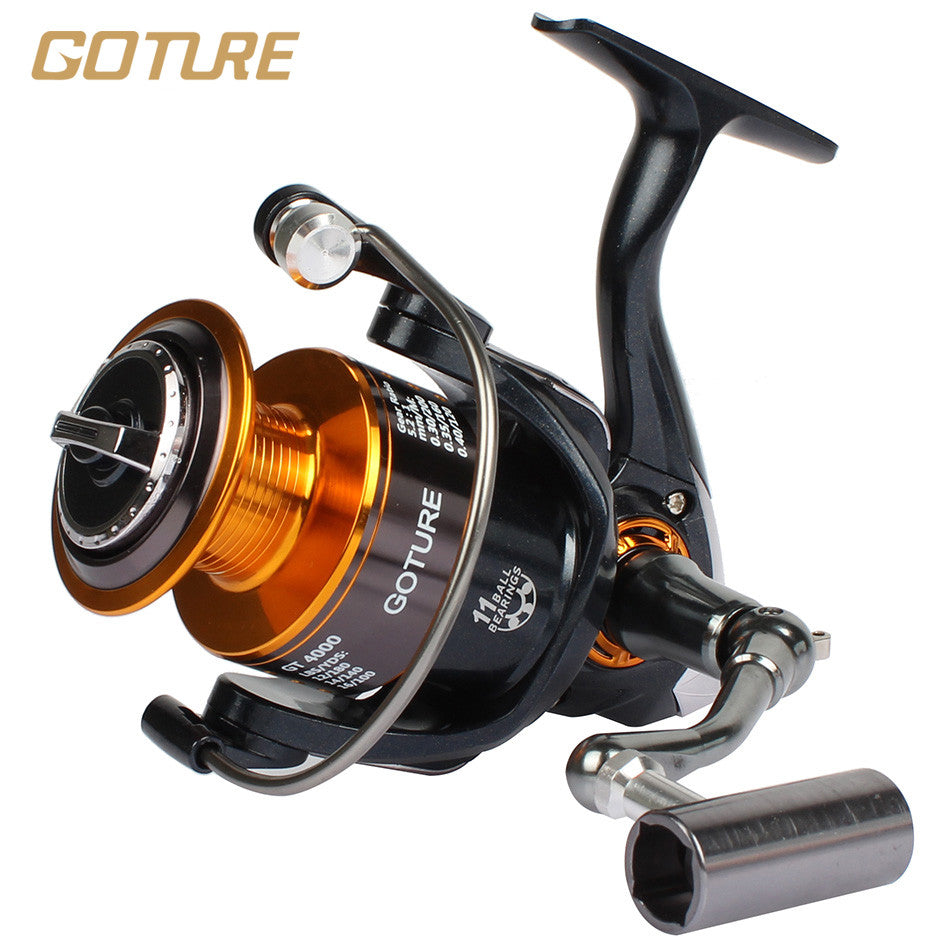 Goture GT4000 11BB Metal Spinning Fishing Reel Carp Reels Carp Fishing