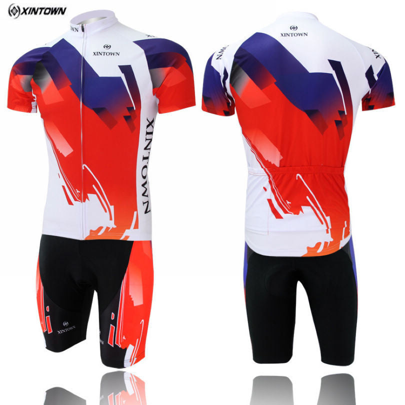 Bright White/ xuan cai Sportswear Team Cycling clothing //Cycling