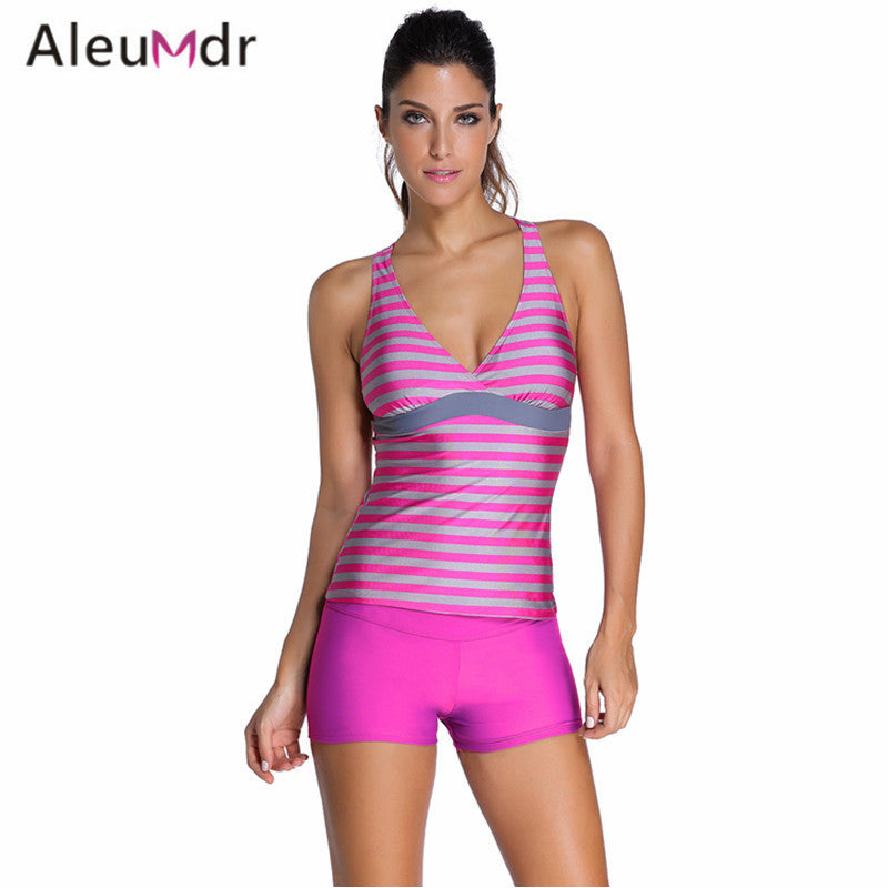 Bathing Suit Swimwear Women Maillot De Bain Ttaille Haute Two Piece