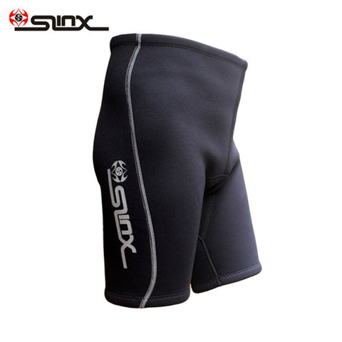 SLINX 2mm Neoprene Men Scuba Diving Shorts Swimming Snorkeling Surfing Waterskiing Boating Training Spearfishing Trunks