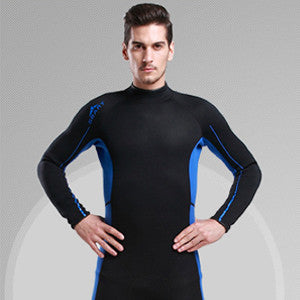 H741New Wetsuit 3MM Diving Suit Upf50+ Long Sleeve Lycra Wetsuit