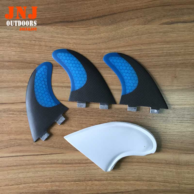 BLUE carbon FCS G7 surf fins/surfboard fins fcs/carbon surf