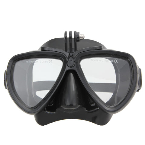 Professional Diving Mask for GoPro 4 3+ 3 2 1 Underwater Snorkeling Equipment Swimming Fishing Pool Diving Mask ISP