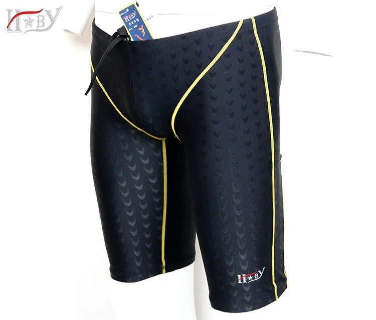HXBY hot sale mens swimming jammer/trunks swim professional jammer