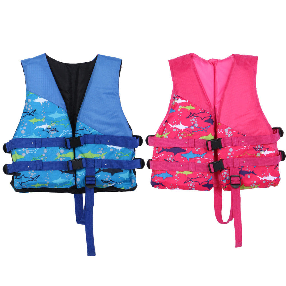 Child Life Vest Inflatable Professional Swimmer Swimming Life