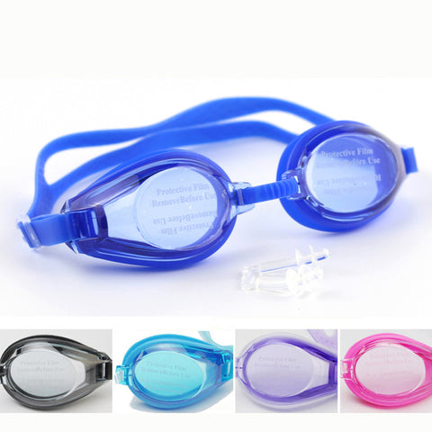 Kids Children Soft Silicone Waterproof Swim Pool Anti Fog Underwater Diving Swimming Goggles Water Glasses Eyewear w/ Pouch Bag