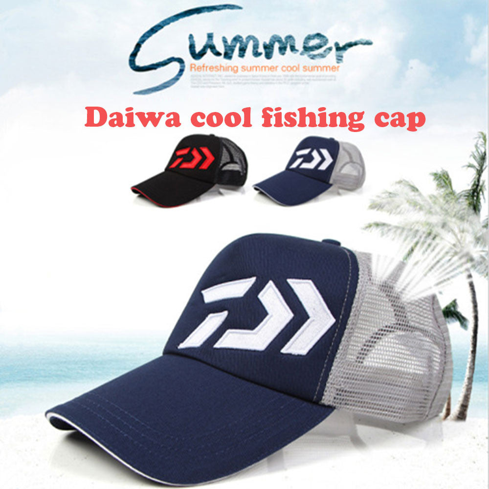 Daiwa Outdoor mesh wicking fishing hat Camping Hiking Hunting