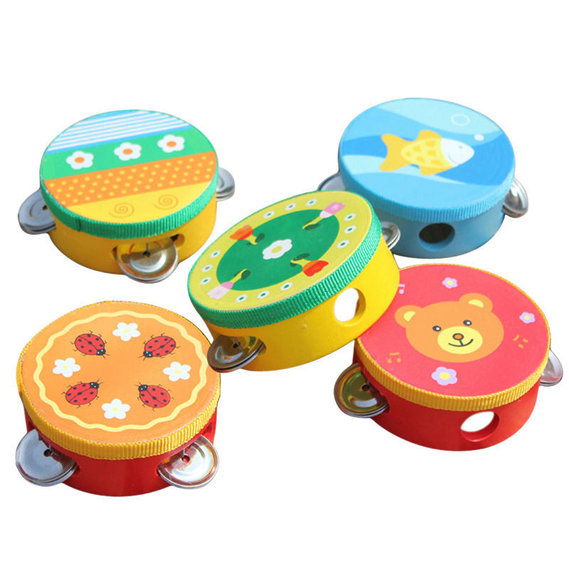 Baby Kids Toys Hand Drum Toy, Musicial Educational Cartoon Toy,