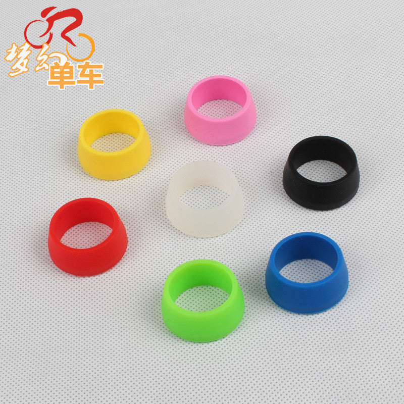Bicycle multicolour silica gel silicone seat tube seatpost rod