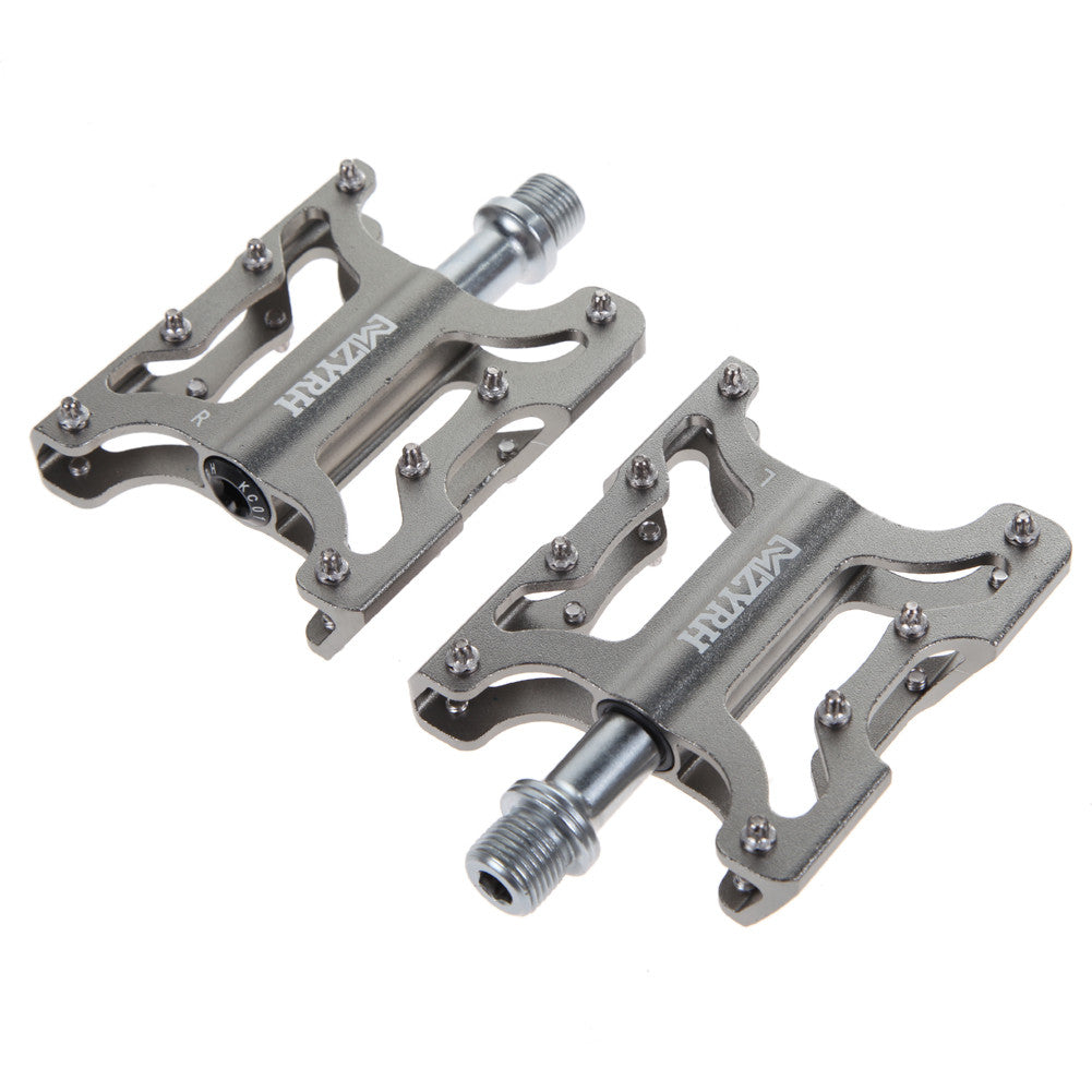 Cycling Bicycle Pedal MTB BMX Bike Alloy Steel Flat Platform Pedals