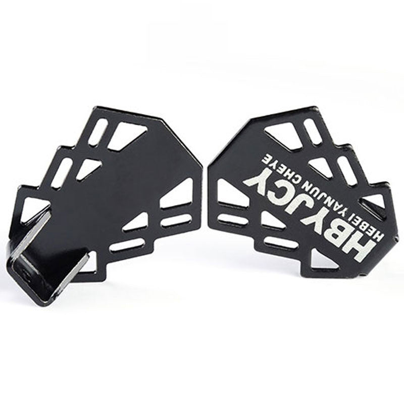 Bicycle Pedals Hollow Out Lightweight Foldable Rear Foot Pedal