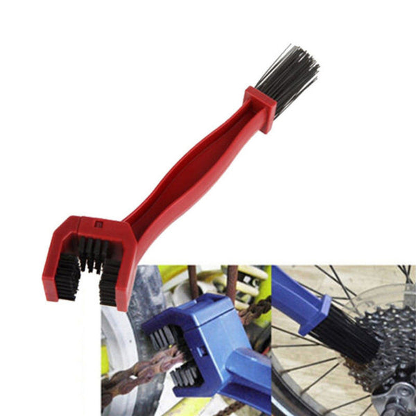 Bicycles and Motorcycles Chain Brush Bike Clean Brush Plastic