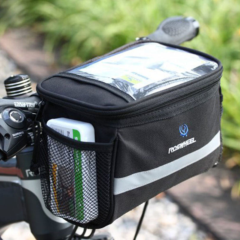 Bike Bag Bicycle Front Bags Bike Cycling Basket Pannier Frame Tube