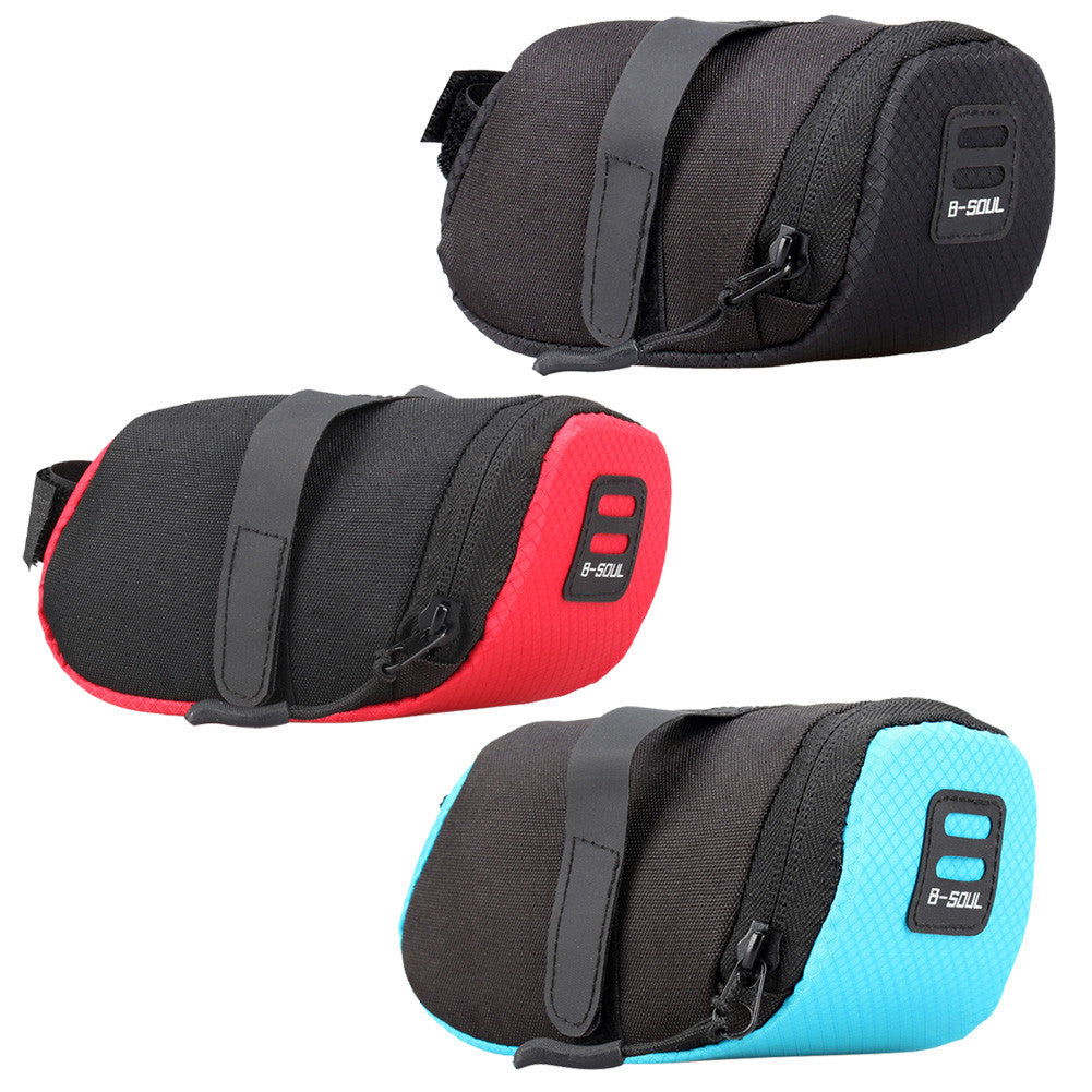 Bicycle Bike Waterproof Storage Saddle Bag Seat Cycling Fame Tail Rear