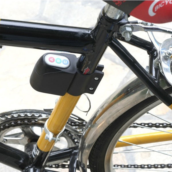 Bicycle  Code Lock Bike Motorbike Cycling Alarm Anti-theft Digital