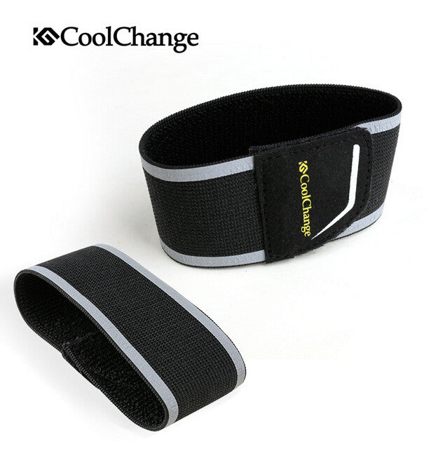 CoolChange Bicycle Beam Waist Trousers Belt Night Cycling Sports