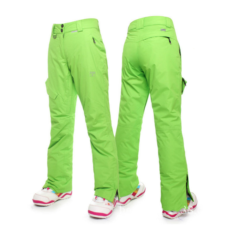 d77e2be302 Nandn Winter Snowboard Pants for women thicken female Skiing Pants ...