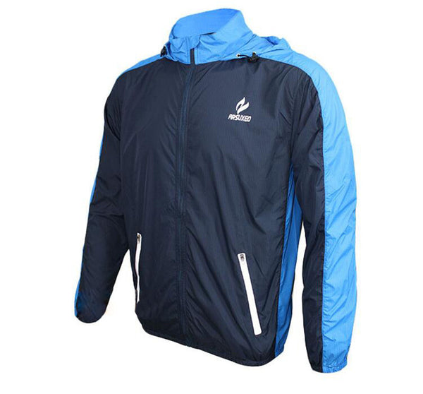 ARSUXEO Sports Jacket Windproof Waterproof Bike Clothing Rainproof